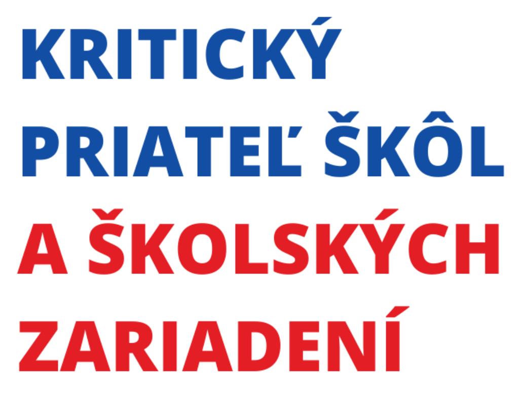 Kritický priateľ škôl_banner